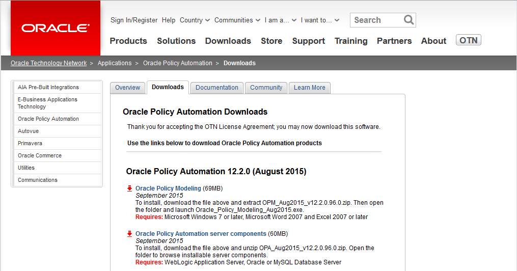 oracle-download